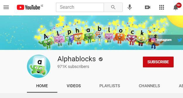 Alphablocks Website Image