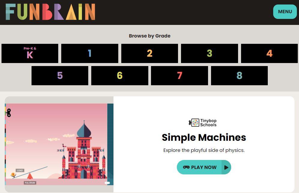 FunBrain Website Image